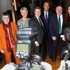 Les députés démissionnaires du Parti travailliste : Ann Coffey, Angela Smith, Chris Leslie, Chuka Umunna, Mike Gapes, Luciana Berger et Gavin Shuker.