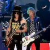 Slash et Duff McKagan de Guns N' Roses