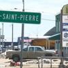 Une pancarte sur laquelle on peut lire Havre-Saint-Pierre.