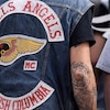 Des membres du groupe de motards Hells Angels de la Colombie-Britannique.