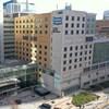 L'Hôpital général de Toronto, vu d'un drone.