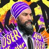 Un montage photo de Jagmeet Singh.