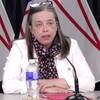 La docteure Janice Fitzgerald en conférence de presse.