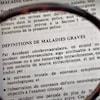 Extrait d'un document sur les définitions de maladies graves.
