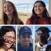 Un montage photo avec 9 jeunes de partout en Saskatchewan qui ont partagé leur avis sur les élections provinciales de 2020.