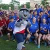 Acajoux aux Jeux de l'Acadie 2016