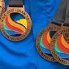 Des médailles du Naig 2017 à Toronto.