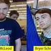 Photo de jeunes hommes recherchés.