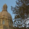 La coupole de la législature albertaine à Edmonton.