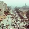 Photo de la rue prise en 1989.