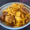 Un macaroni au fromage.