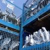 Des pièces automobiles du fabricant canadien Magna dans une de ses usines de l'Ontario