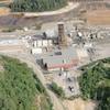 Vue aérienne de la mine Morrison dans le Grand Sudbury
