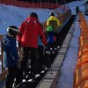 Le tapis magique facilite la montée aux apprentis skieurs et aux amateurs de glissade sur chambre à air.