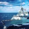 Le navire de la marine royale canadienne, le NCSM Halifax.