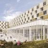 Maquette du futur pavillon de résidences de l'Université Laval.