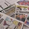 Éditions papier du journal Le Nouvelliste.