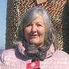 Odile Gauvin-Mallet en entrevue sur le quai.