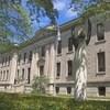 Grande bâtisse de face du palais de justice de Trois-Rivières