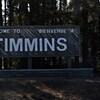 Pancarte Bienvenue à Timmins