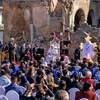 Le pape François dans la vieille ville de Mossoul, au nord de l'Irak.