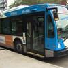 Un autobus de la STM.