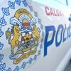 Voiture de police de Calgary.