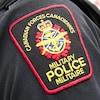 L'écusson de la Police militaire canadienne