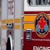 Un camion de pompier de Hamilton