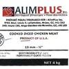 Étiquette d'un produit de viande de poulet d'Alim Plus