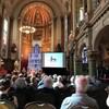 Table ronde sur les patriotes à la Chapelle de l'Amérique française, le 15 août 2019