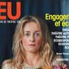 Couverture du numéro 176 de la revue JEU où est photographiée la comédienne Christine Beaulieu.