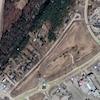photo aérienne des terrains de l'entrée ouest de Rivière-du-Loup.