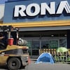 Un Rona à Saint-Eustache