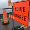 Fermeture d'un tronçon de route