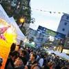 Une foule au Festival international des rythmes du monde