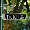 Un panneau de la rue Trutch, à Vancouver.