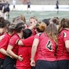 L'équipe universitaire féminine de rugby du Rouge et Or de l'Université Laval