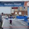 La gagnante du Marathon de Rimouski 2019 chez les femmes, Salome Nyirarukundo.