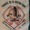 Le drapeau du conseil de Matimekush-Lac John