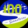 Logo du 100e anniversaire de Senneterre