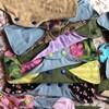 Des serviettes hygiéniques réutilisables avec différents motifs.