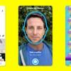 Égoportrait d'un utilisateur de SnapChat transposé dans une vidéo humoristique