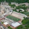 Vue aérienne du stade Percival-Molson