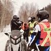 Opération dans le cadre de la Semaine internationale de la sécurité à motoneige
