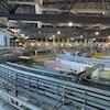 Intérieur du synchrotron de Saskatoon.
