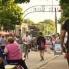 Photo de touristes dans une rue de Charlottetown
