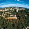 Une vue aérienne du campus de l'Université de la Colombie-Britannique à Vancouver