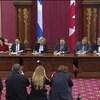 L'Union des municipalités du Québec et le gouvernement Legault signent le pacte fiscal.