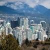 Forêt de gratte-ciels à Vancouver
